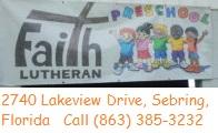 Faith Lutheran Sebring Preschool