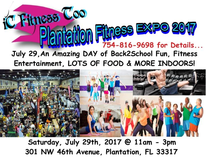 Plantation Fitness expo2017