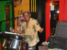 Steel Drummer Ronnie Moses