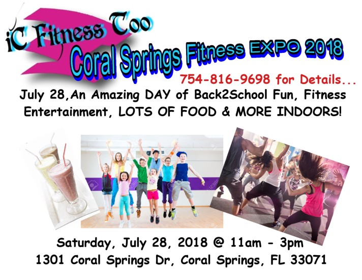 Coral Springs Fitness expo2018-jul