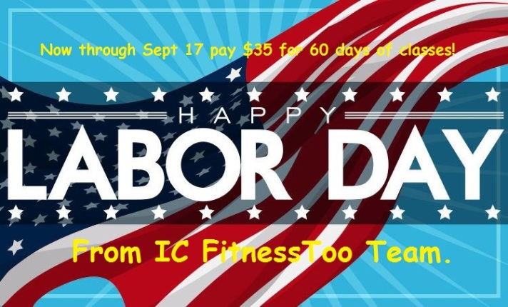 IC Fitness Too Labor Day 2018