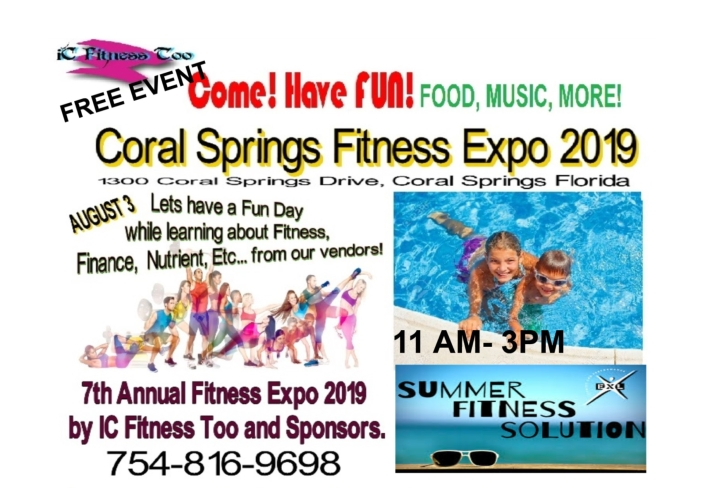 Coral SpringsExpo 2019 AUGUST3-1