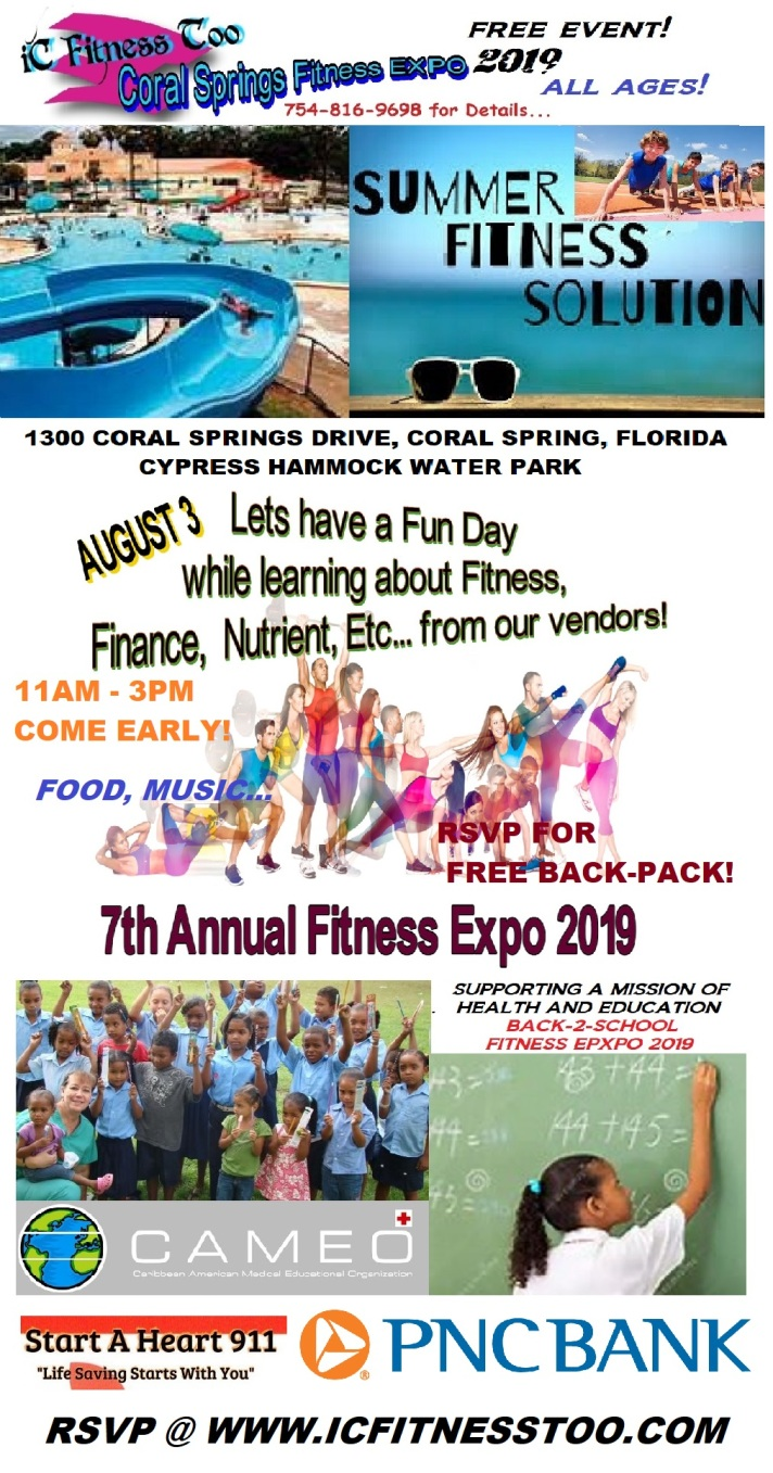 Coral Springs Fitness Expo 2019 - Copy